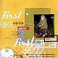 First bike first ride