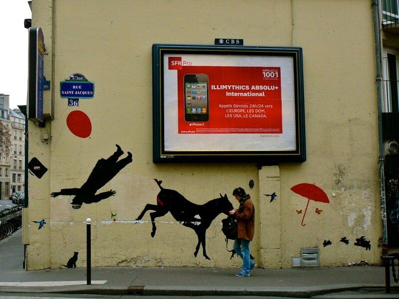 Instantané rue Saint-Jacques.