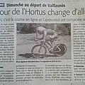 Tour de l'hortus 2013!!!!