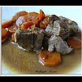Sauté de dinde aux carottes et vinaigre a la vanille de madagascar