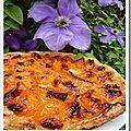 Tarte abricots à la bergamonte