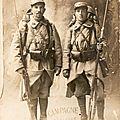 Deux braves du 174e en 1915