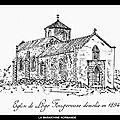 LOGE-<b>FOUGEREUSE</b> (85) - L'ANCIENNE ÉGLISE - LE PRIEURÉ - LES PRIEURS