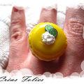 Macaron citron meringué
