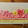 3 petites cartes d'anniversaires