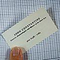 Constantine 101 - non est asylum