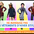 Les Sims freeplay - <b>Chants</b> de <b>Noël</b> et vêtements chauds