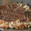 Fondant au chocolat, poires et spéculoos