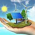 Quels sont les cinq types d'<b>énergies</b> renouvelables ?