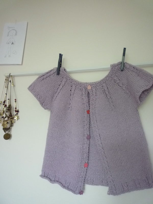 gilet kid tricot