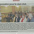 <b>ciné</b> <b>club</b>, revue de presse