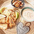 ...<b>Fish</b>'n chips de Cyril Lignac dans Tous en cuisine, 2eme édition...