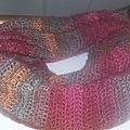 🧣 Crochet : Un <b>snood</b> bien chaud....