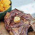 Côte à l'os Irish au Barbecue