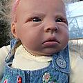699 - Ludmilla bébé sur commande