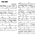 Poor Jenny (Partition - Sheet Music)