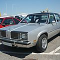 OLDSMOBILE Omega Brougham 4door Sedan 1981