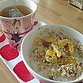 Du porridge au petit-dèj