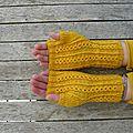 Biene maja's mitts.....