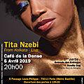L'étoile Nzebi sur la scène du <b>Café</b> de la <b>Danse</b> le 6 avril prochain