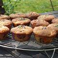 Muffins cranberries-pommes, bons mais raplaplas !