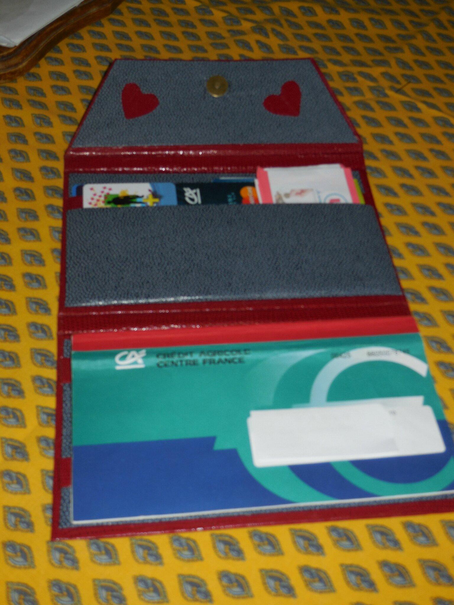 Porte chéquier et cartes RL