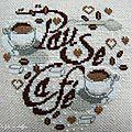 Une pause café bien méritée...