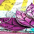 Collection zentangle : ensemble feuilles