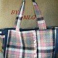 Urban bag - medium - laine et milleraies