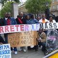 Manif du 20 mai 08 a Downing Street 049