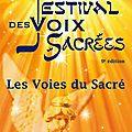 Nouvelle édition du festival des voix sacrées 2012