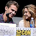 Shailene Woodley Theo James Divergent Comic Con 2013