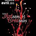 Salon des artistes et créateurs 2015