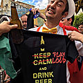 Des T-shirts sérigraphiés pour l'anniversaire de la fanfare Hijos de Tuba