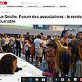 Forum des associations : les inscriptions à l'atelier sont ouvertes