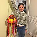 La piñata réalisée par léa 👍