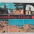 Vias Farinette plage datée 1977