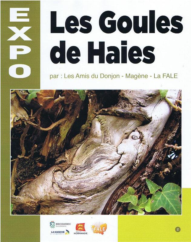 p 2 titre Expo Goules de haies