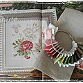 Sal etude botanique - la rose