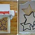 Décoration murale étoile cartonnette 4 lilybouticlou