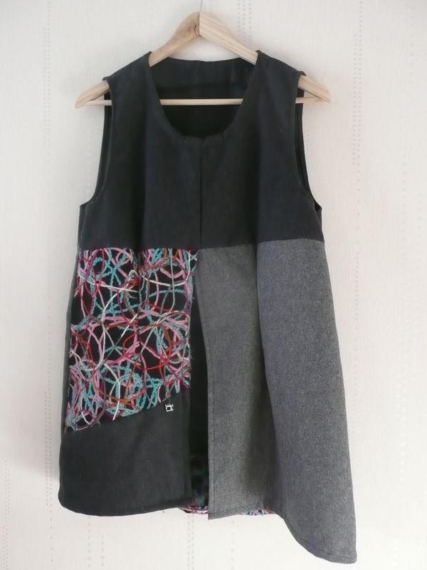 Tunique femme en lainage