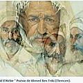 Ahmed Bentriki - Poête Algérien du XVIIIè siècle