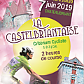 La Castelbriantaise 7 Juin 2019 1-2-3- juniors