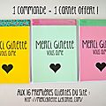 Diy : des blocs notes offerts par merci ginette le shop !