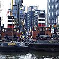 Dans le port d' amsterdam...