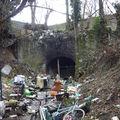 Ancien tunnel d'accès aux carrières du centre.