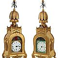 2 rare Chinese animated bracket <b>clocks</b> expected to chime on time at Fontaine's next big auction