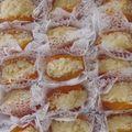 Abricot garni aux côco