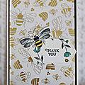 Carte Honey Bee #3