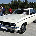 Opel manta a 1600 s luxe sr - 1970